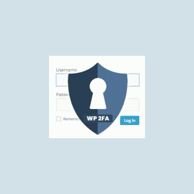 WP2FA Authentication